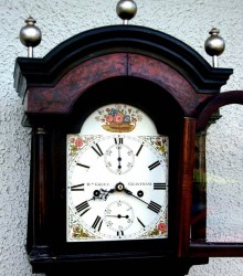Excellent longcase clock william green