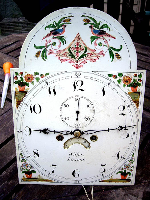 wilson london clock face